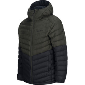 Peak Performance Frost Blocket Down Hooded Jacket Herr forest night